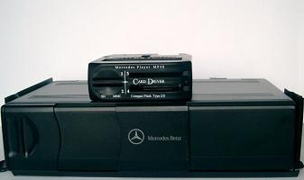 Cd changer comparison mercedes player for Mercedes benz cd player